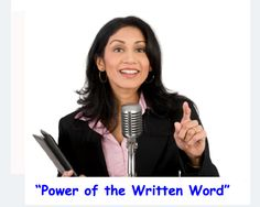 """The world's greatest speeches, sales presentations, product demos and motivational breakthroughs ALL started in written format. Come join us this Sunday for a fantastic """"POWER of the WRITTEN WORD"""" Speaker Jam. http://www.meetup.com/Speaking-Fearlessly/events/224759347/"""