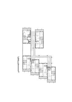 Social Housing + Shops in Mouans Sartoux,Floor Plan
