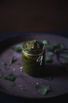 Stinging Nettle & Almond Pesto
