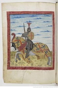 Armorial de GILLES LE BOUVIER, dit BERRY, héraut d'armes du roi Charles VII.