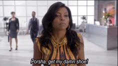 Pin for Later: 42 Times Taraji P. Henson Earned Her Emmy Nomination as Cookie Lyon When she gives clear instructions.