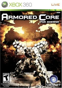 Armored Core For Answer  Xbox 360 * You can find out more details at the link of the image. Note:It is Affiliate Link to Amazon.