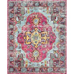 nuLOOM Corbett Pink Area Rug & Reviews | Wayfair