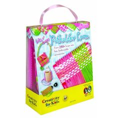 Girls Make your own POTHOLDER Purse cupholder etc  Loops and LOOM Kit or Set  Favorite sets for Girl s of all ages 250 LOOMS Included by CFK >>> Read more reviews of the product by visiting the link on the image.Note:It is affiliate link to Amazon.