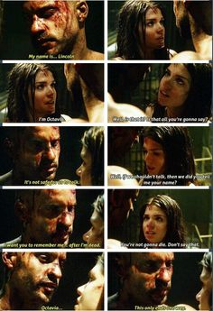 Lincoln and Octavia. The 100 #the100 #linctavia