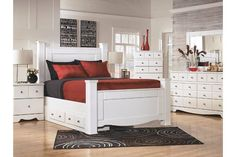 White Weeki Chest of Drawers by Ashley Furniture
