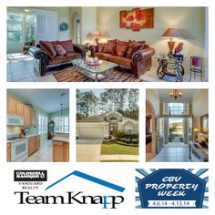 We are excited to be participating in CBV's Open House Event! Come check out our listing this Sunday! 1296 Fairway Village Dr. MLS 705135 #CBVStrong #CBVPropertyWeek #CBVFleming