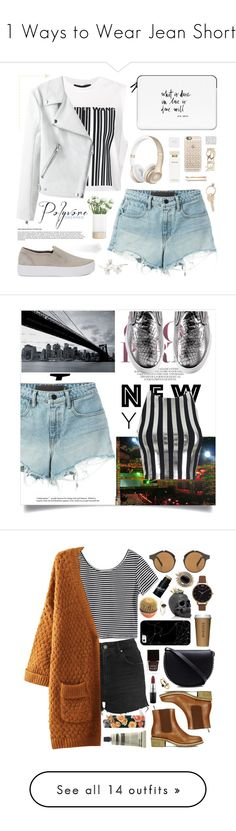 """11 Ways to Wear Jean Shorts"" by polyvore-editorial ❤ liked on Polyvore featuring jeanshorts, waystowear, Alexander Wang, NARS Cosmetics, Casetify, Rebecca Minkoff, LSA International, Narciso Rodriguez, Madewell and Pier 1 Imports"