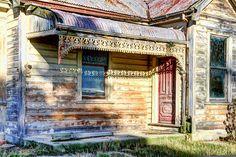 Old house, Milton, Otago, New Zealand.