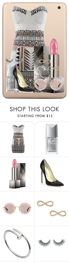 """""""Untitled #136"""" by minnie-maus2002 ❤ liked on Polyvore featuring Christian Dior, Burberry, Brian Atwood, Miu Miu, Jules Smith and Cartier"""