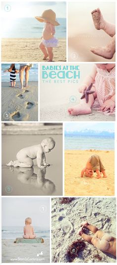 the Stork is Coming: The best 'baby at the beach' pictures