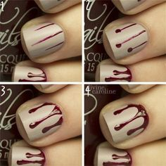 DIVINE CAROLINE-Halloween-Nail-Art-Tutorials-For-Beginners-27