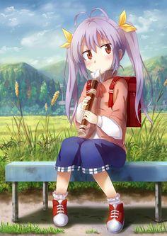 Miyauchi Renge,Yin Zhai,Non Non Biyori,Anime,аниме,Renge Miyauchi,Miyauchi Renge