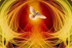 Rusaliile - Pogorârea Sfântului Duh în chip de limbi de foc Spirit Of Truth, Holy Spirit, Genesis Creation, Christian Mysticism, Dove Pictures, Presence Of The Lord, Revelation 12, St Basil's, Ways Of Seeing