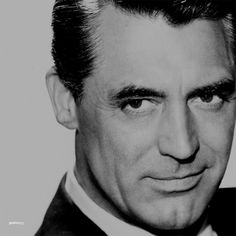 Cary Grant--my FAVORITE male actor, hands down.