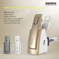 Bluetooth Earpiece with Charging With Stand for All Smartphone Dock BT4.0 RB-T6C #Remax