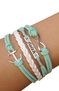 Mint bracelets