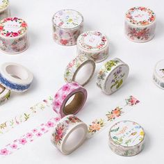 5J101-112  The Sea of Flowers Decorative Washi Tape DIY Scrapbooking Masking Tape School Office Supply #electronicsprojects #electronicsdiy #electronicsgadgets #electronicsdisplay #electronicscircuit #electronicsengineering #electronicsdesign #electronicsorganization #electronicsworkbench #electronicsfor men #electronicshacks #electronicaelectronics #electronicsworkshop #appleelectronics #coolelectronics