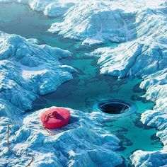 #drain #cinema #c4d #cinema4d #render #octanerender #photoshop #daily #3d #graphics #graphic #design #abstract #art #surreal #climatechange #pink #icebergs #snow #realistic #arctic #aerial #bath #river
