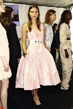 Christian Dior AW14-15 Haute Couture show ( Raf Simons ) Paris, Backstage | Sonny Vandevelde