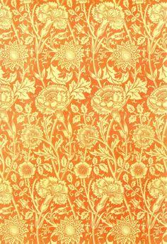 William Morris, Part VIII. Morris - Pink and Rose Design (for Wallpaper)