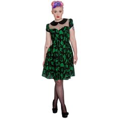 New Hell Bunny Anatomy Sexy Party Dress Rockabilly Vintage Outfits, Vintage Style Dresses, Retro Outfits, Vintage Fashion, Long Petticoat, Creepy, Bunny Outfit, Goth Dress, Full Circle Skirts