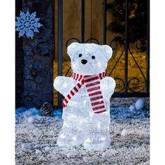 MagicHome Dekorácia X6100, Polárny medveď, IP44 Led, Snowman, Snoopy, Outdoor Decor, Fictional Characters, Home Decor, Figurine, Decoration Home, Room Decor