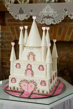 Pastel de cenicienta para una princesa.