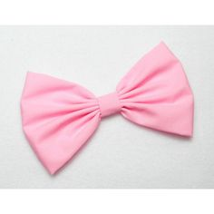 PINK Hair Bow Clip COTTON CANDY Pink Bow Clip Pink Clip Bows for women... ($4.99) ❤ liked on Polyvore