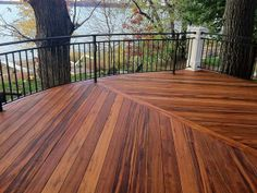 What is tigerwood, and is it sustainable? Looks nice! CI-Advantage-Lumber_tigerwood-waterfront-deck_s4x3 Herringbone
