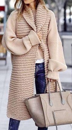 50 fashionable winter jacket for women 50 fashionable winter jacket for fashionable winter jacket for womenOur picks offer a range of styles, price points, size offeri Crochet Coat, Crochet Cardigan, Pijamas Women, Best Winter Coats, Cardigan Pattern, Winter Jackets Women, Knit Fashion, Knit Jacket, Pulls