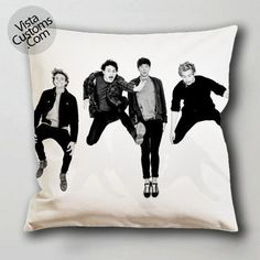 5SOS black white pillow case, cushion cover ( 1 or 2 Side Print With Size 16, 18, 20, 26, 30, 36 inch )