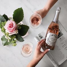 weekend = endless rosé
