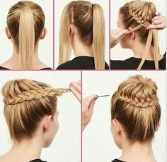 61 Best Tie Up The Beauty Hairstyle Images On Pinterest Hairstyle
