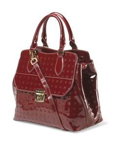 Made In Italy Patent Leather ARCADIA  Satchel. LOVE IT! And i didn't know you could now order from TJ Maxx online. WOOHOO!