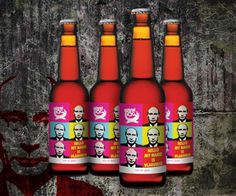 Hello, my name is Vladimir. Brew Dog with their special masculine beer for non-gays