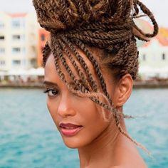 Fun and Beautiful Braided Hairstyles – HerHairdos Twist Braid Hairstyles, Ethnic Hairstyles, Dreadlock Hairstyles, Pretty Hairstyles, Protective Hairstyles, Black Hairstyles, Hairstyles 2016, Wedding Hairstyles, Afro Twist