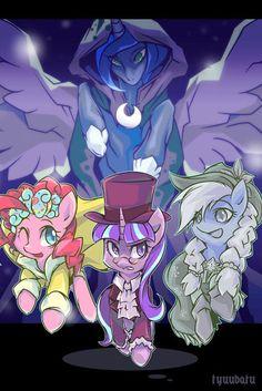 A Hearth's Warming Tail by HananPacha on DeviantArt My Little Pony List, My Little Pony Pictures, My Little Pony Friendship, Tiny Horses, Dragon Ball Z Shirt, Mlp Fan Art, My Little Pony Drawing, Fanart, Princess Luna