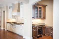 Contemporary kitchen designed by Regency Builders.