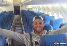 Letieť lietadlom ako kráľ, to sapošťastilo Slovákovi Alexandrovi Simonovi.    Alex Simon je cestovateľký blogger, ktorý žije v súčasnosti v rakúskom meste Ischgl. Pri jeho ceste na exotický ostrov Bocaray sa mu letecká spoločnosť postarala o záži...