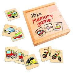 Wooden Memory Game – Wooden Toys for Kids