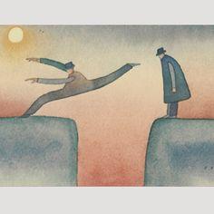 Never seen works of artist Jean Michel Folon 1934-2005 Artist ...