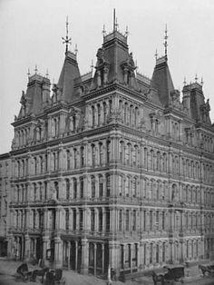 The German Insurance Company Building Buffalo Ny Vintage