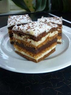 Chod: Zákusky a koláče - Page 11 of 254 - Mňamky-Recepty. Hungarian Desserts, Hungarian Recipes, Torte Cake, Sweet Cookies, Sweet And Salty, Winter Food, Cakes And More, Desert Recipes, Sweet Recipes