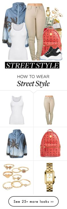 """Street style."" by cocochanelox on Polyvore featuring Mudd, Tory Burch, adidas, American Vintage and MCM"