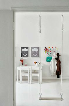 Nice Idea for Kids Room #Swing #Schaukel