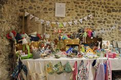 Made by... is our little craft company. Here is our 1st ever stall.