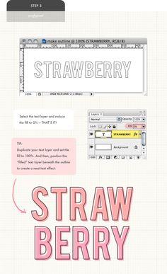 puglypixel - outline font tutorial