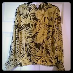 H&M Patterned Blouse Brand new light blouse. Perfect for summer/vaca. H&M Tops Blouses