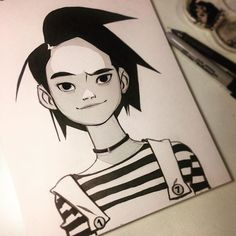 Instagram media by anna_cattish - #Inktober 17 #girls                                                                                                                                                                                 Más